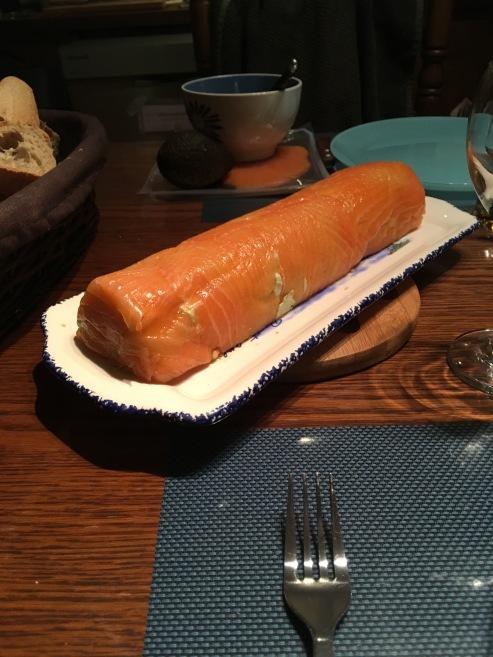 bûche avocat saumon1